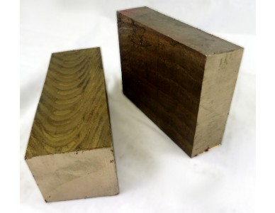 "C95400 Bronze Flat Bar  1"" Thick x 1-3/4"" Wide"