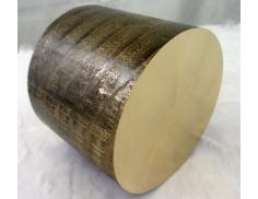 "C95400 Bronze  Solid Round Bar 5-1/2"" Diameter"