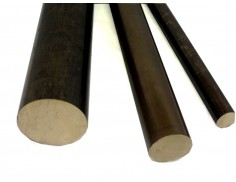 "C544 Bronze Solid Round Bar 1-1/4"" Diameter"