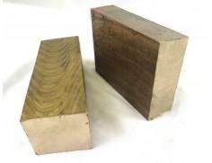 "C86300 Bronze Flat Bar 1"" Thick x 12"" Wide"