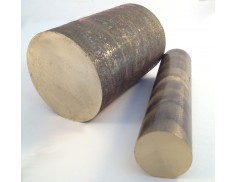 "C90300 Bronze Solid Round Bar 2-1/2"" Diameter"